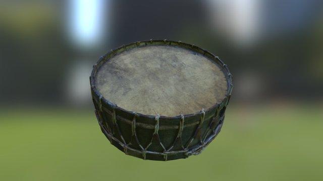 Comunn na Feinne Pipe Band Drum 3D Model