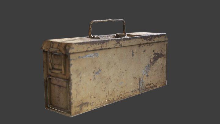 WW2 Asset Pack: German Ammobox 3D Model