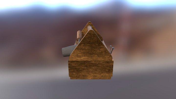 Toolbox Textured 3D Model