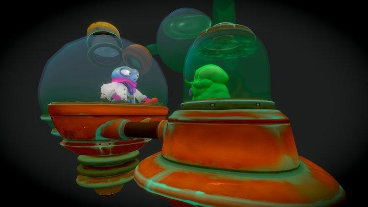 Mad Jelly Idea Machine 3D Model