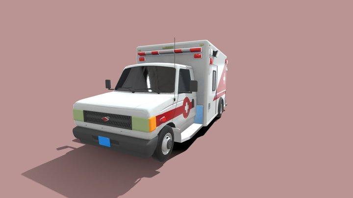 2007 Baird C-Series Ambulance 3D Model
