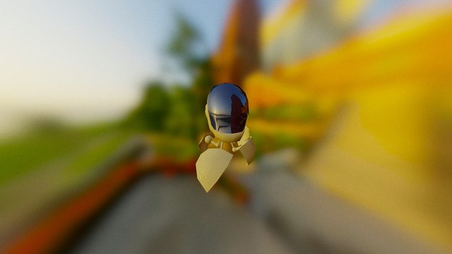Daft Bug 3D Model