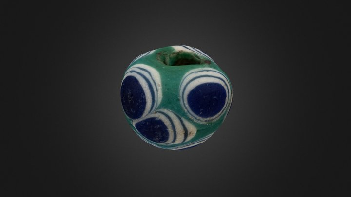 Glass bead - Glaspärla 3D Model