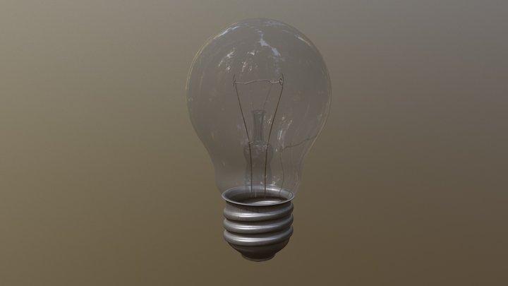 Лампа / lamp (4k textures) 3D Model