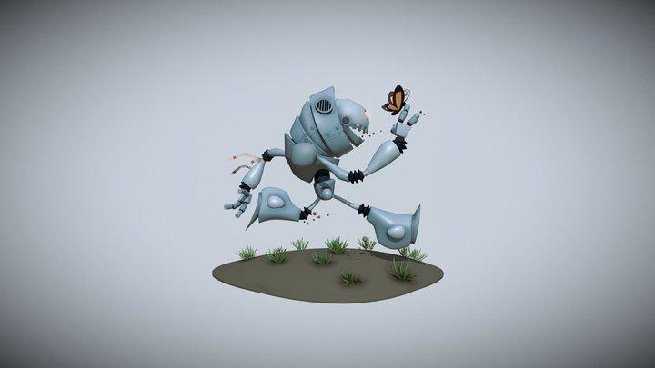 Robot_Bob 3D Model