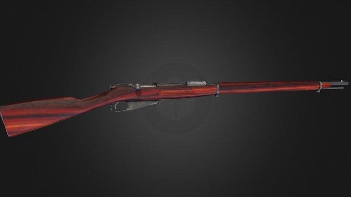 Rifle Mosin 3D Model