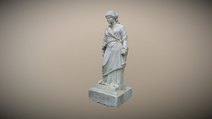 Muse statue 3D Model