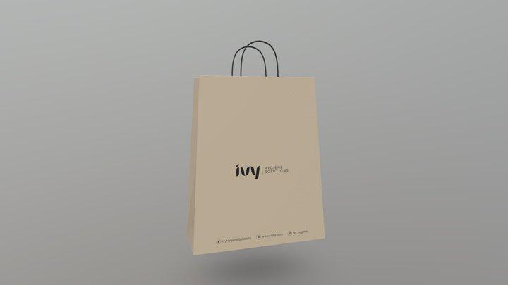 Renova Shopping Bag 03 3D Model