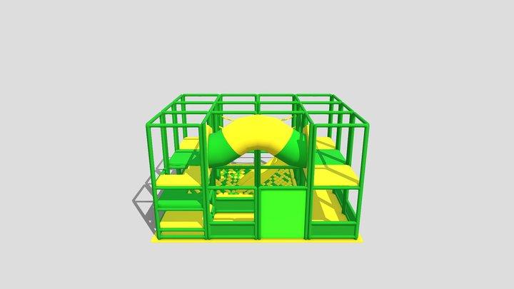 Tikibar 3D Model