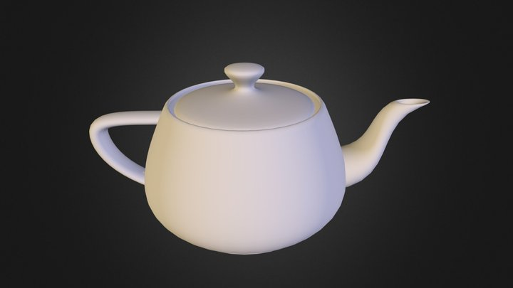 teapot.obj 3D Model