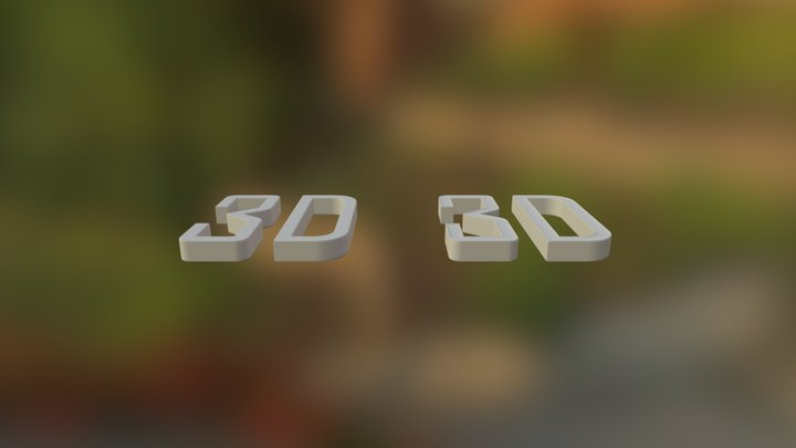 Mesh Says It All 3D Model