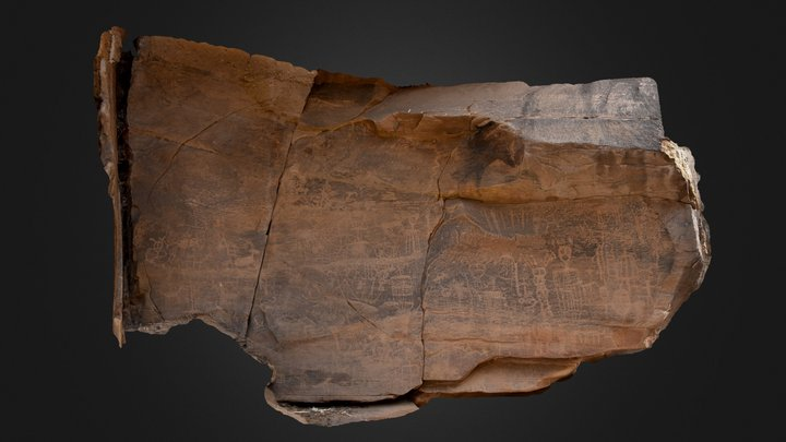 Petroglyph Panel, Little Colorado R. Drainage