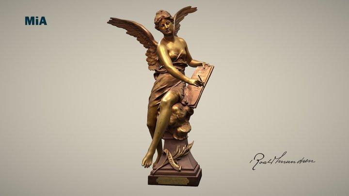 Statuetten fra Rouen / Statue from Rouen 3D Model