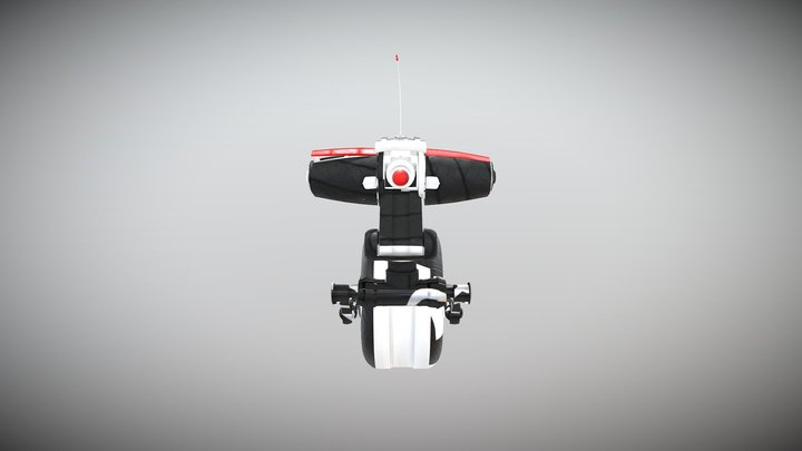 My Riding Robot (#RobotTextureChallenge) 3D Model