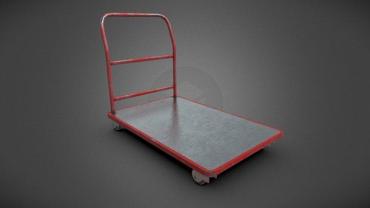 Platform Trolley 3D Model