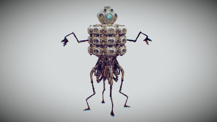 Monocular-Geistspire 3D Model