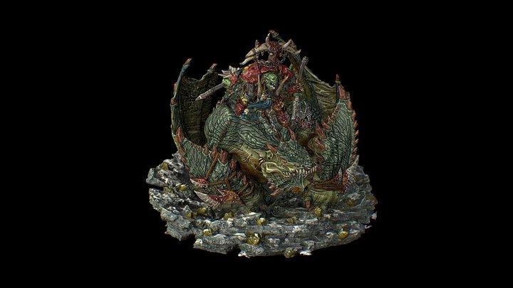 GW: Gordrakk - Painted by Sloane Dougherty 3D Model