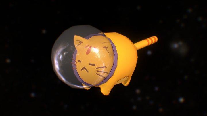 Commander Space Cat 3D Model