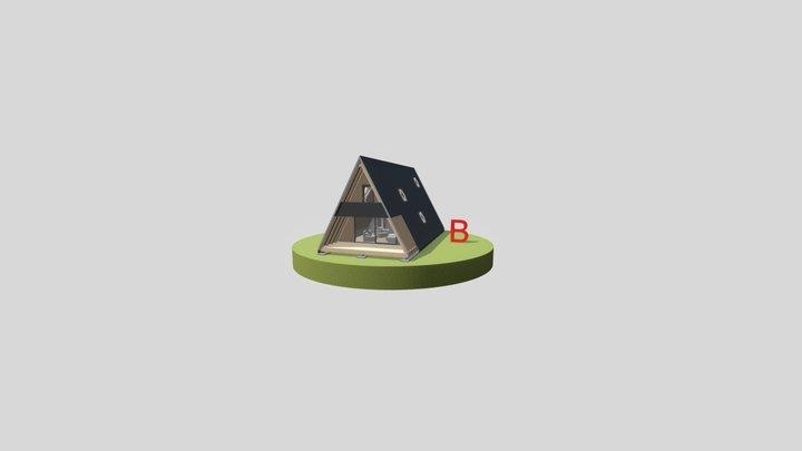 Új 'A' ház_B verzió 3D Model