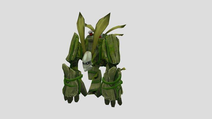 Tree Golem 01 3D Model