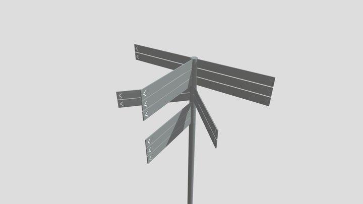 Sønderborg 1, Motionsbane 3D Model