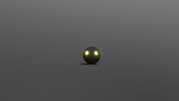 Darkling Ball (animated) 3D Model