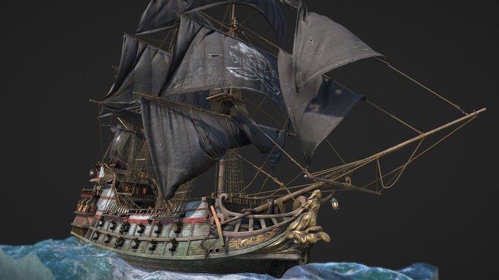 Black sail:Catherine 3D Model