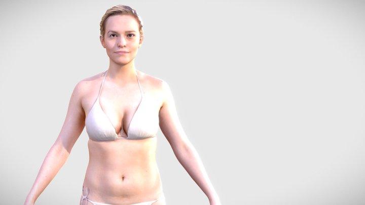 Human Woman Scan - 137FBody 3D Model