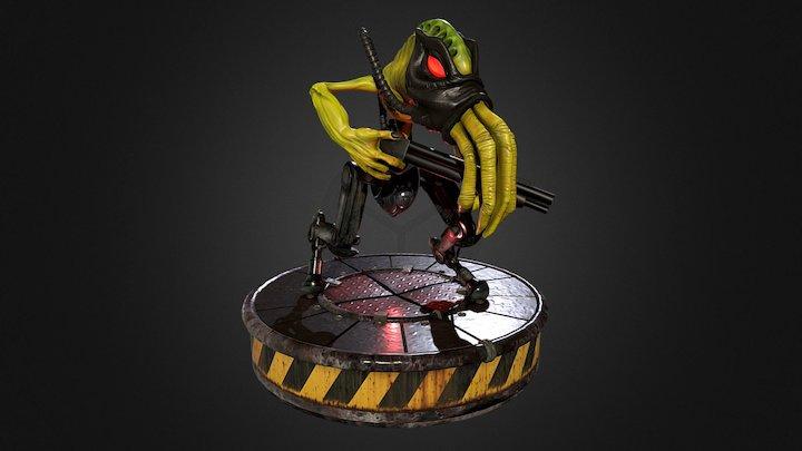 Slig - Abe's Oddysee 3D Model