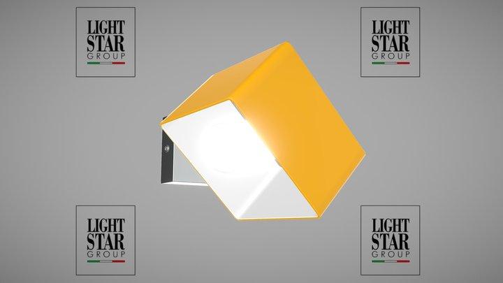 801613 Pezzo Lightstar sconce 3D Model