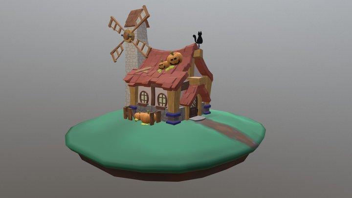 Casa Hallowen 3D Model