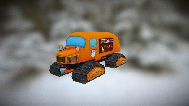 Arctic Vehicle 3D Model