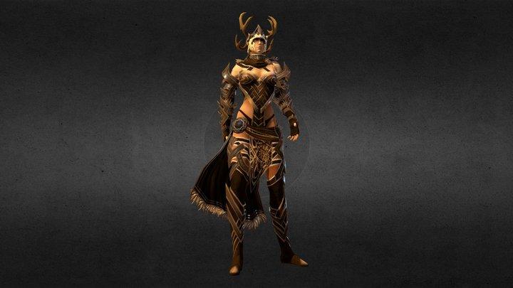 Norn Female 3D Model