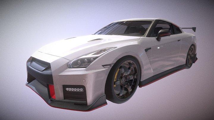 Unlock Sports Car #03 3D Model