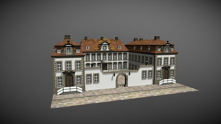 Harling'sches Haus 3D Model
