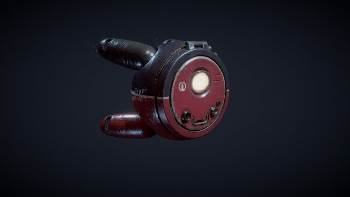 The Curious Octopus 3D Model