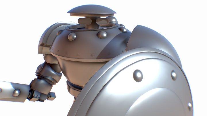 28mm-Robot-Concept 3D Model