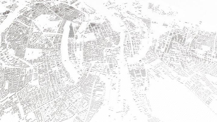 COPENHAGEN CITY 3D 3D Model