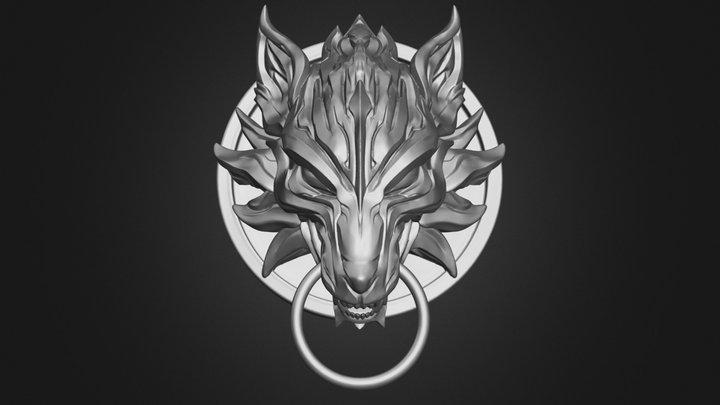 Fenrir Fan Art  STL for 3DPrint 3D Model
