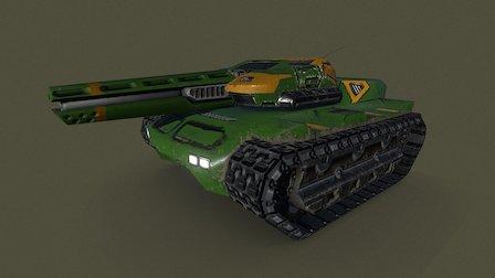 Mercury Main battle tank 3D Model