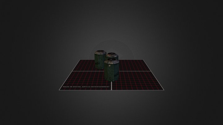 Bins 3D Model