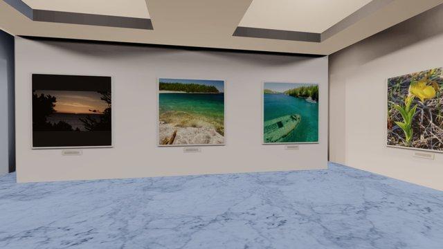 Instamuseum for @Workcabin 3D Model