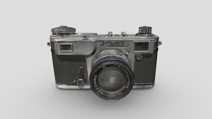 Kiev 35mm SLR camera - Artec Spider 3D Scan 3D Model