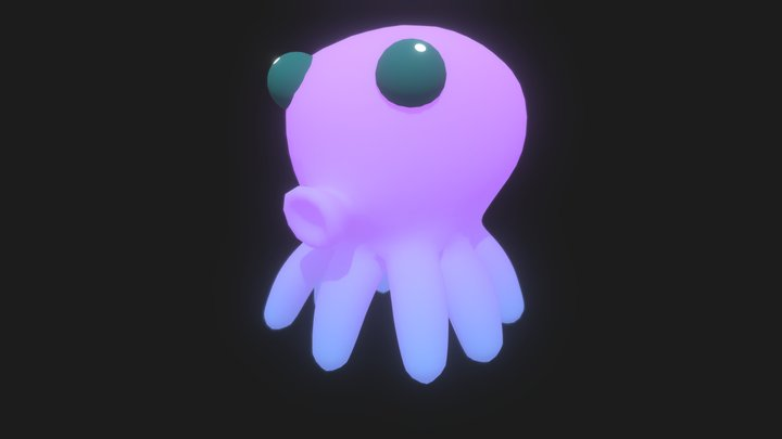 octo_animationTest 3D Model