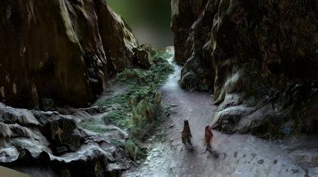 Cueva. Entrada. Pruebas de Captura desde drone. 3D Model