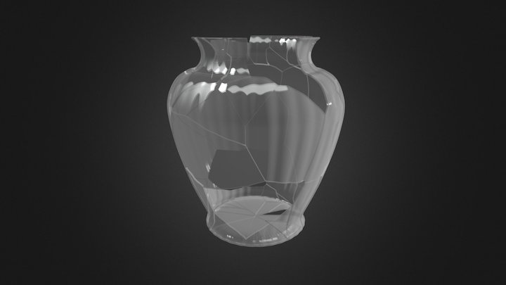 Vase - 3D modelling for Virtual Restoration 3D Model