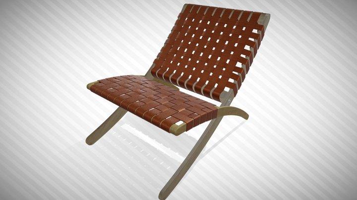 Cuba Lounge Chair 3D Model