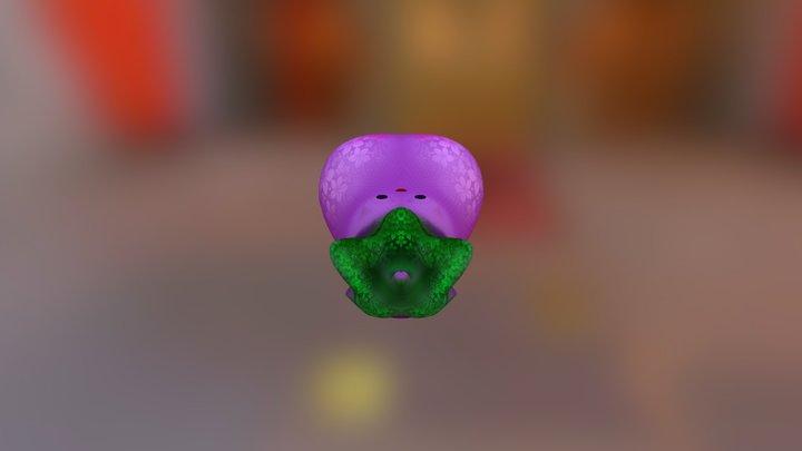 Eggplant Color05 3D Model