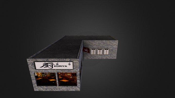 House 02 City Scene 3D Model