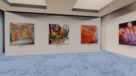 Instamuseum for @gaufgang 3D Model